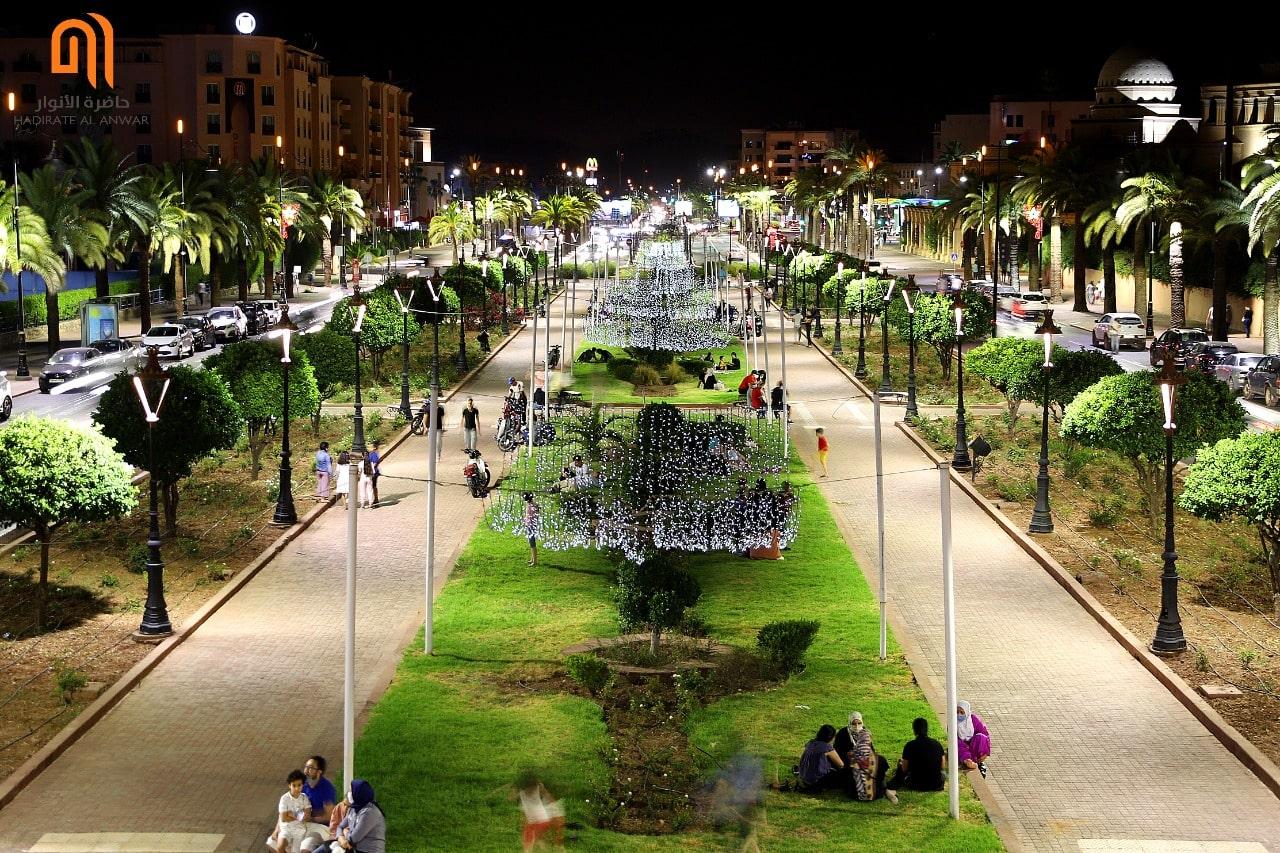 Rénovation des parcs d'éclairage public de Marrakech