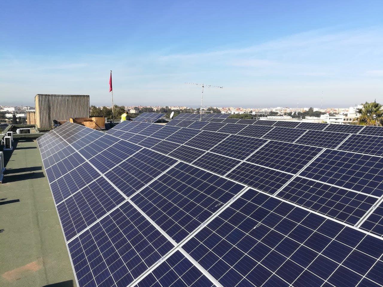 Mise à niveau énergétique des bâtiments du Ministère des Affaires Générales et de la Gouvernance (MAGG)